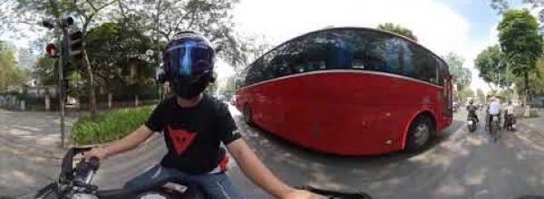 Dàn Harley Davidson tụ họp pô nổ rộn ràng đường phố Hà Nội ngày đầu xuân 2019 – Video 360 độ