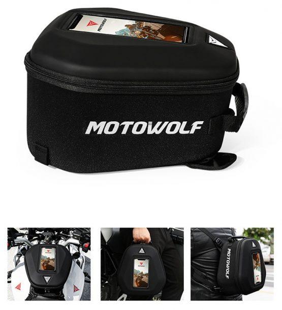 Túi bình xăng motowolf