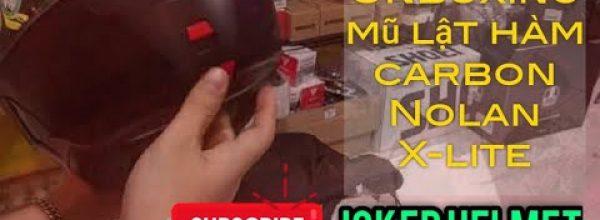 Mở hộp – Unboxing mũ lật hàm Nolan Xlite X1004 Ultra Carbon | Joker Helmet Shop