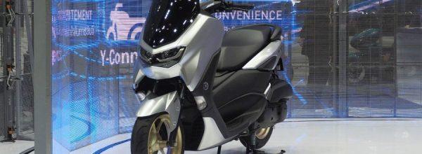 Yamaha NMAX Connected 155 2021 hoàn toàn mới chính thức ra mắt Thái Lan