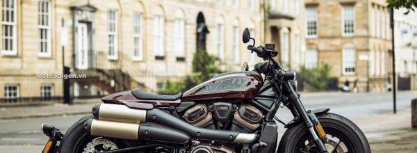Sportster S lên đầy đủ đồ chơi phụ kiện chính hãng của Harley-Davidson