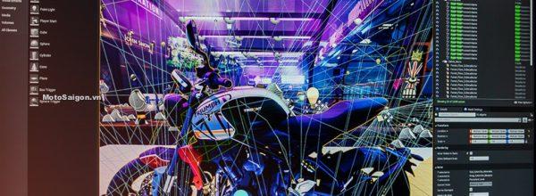 Imagination kết hợp Epic Games trải nghiệm thực tế ảo với Triumph Trident 660